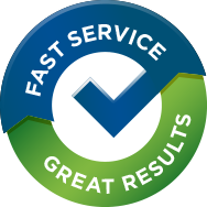 fast service great results
